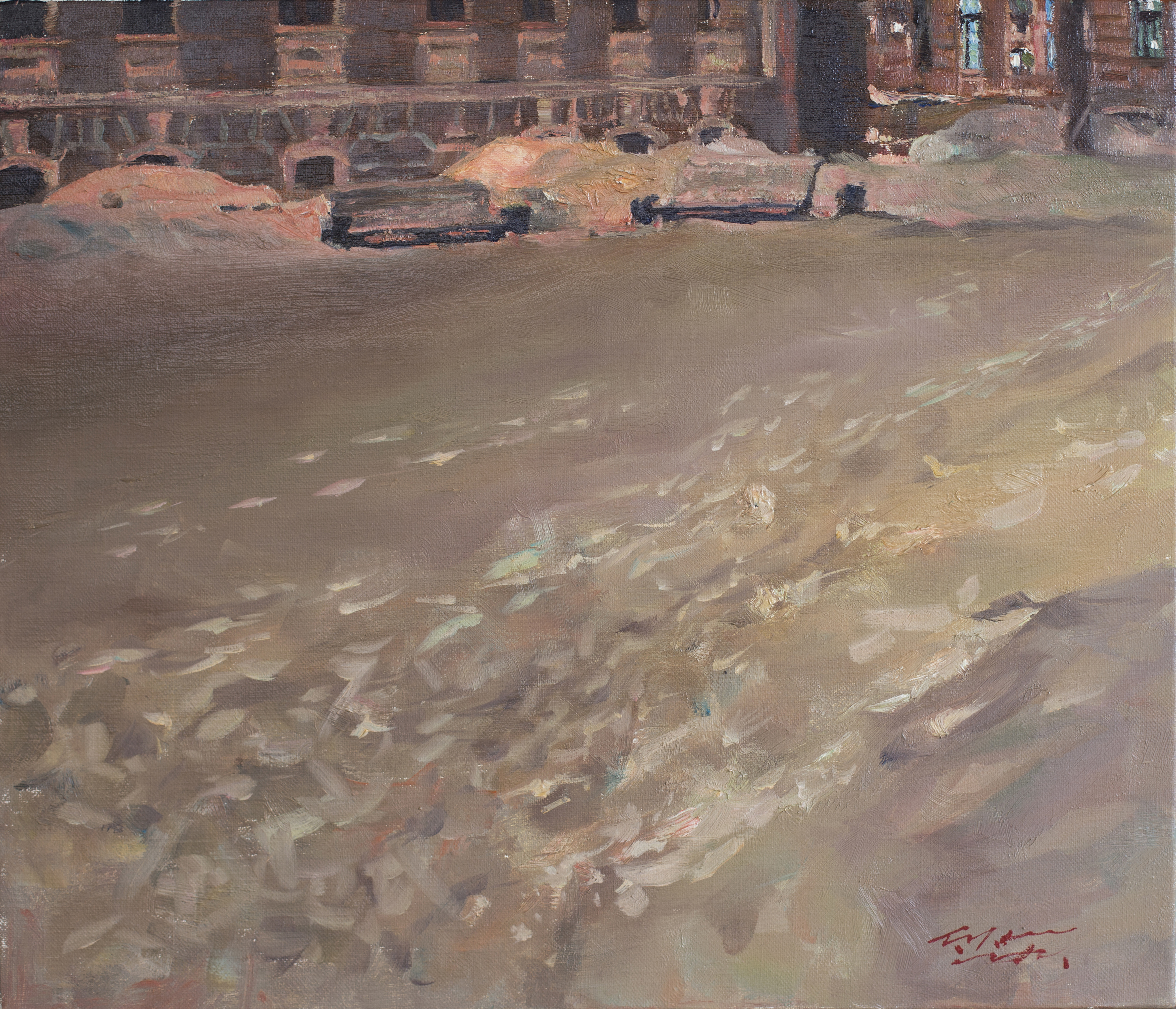 겨울53x45_5__Oil_on_canvas_2012
