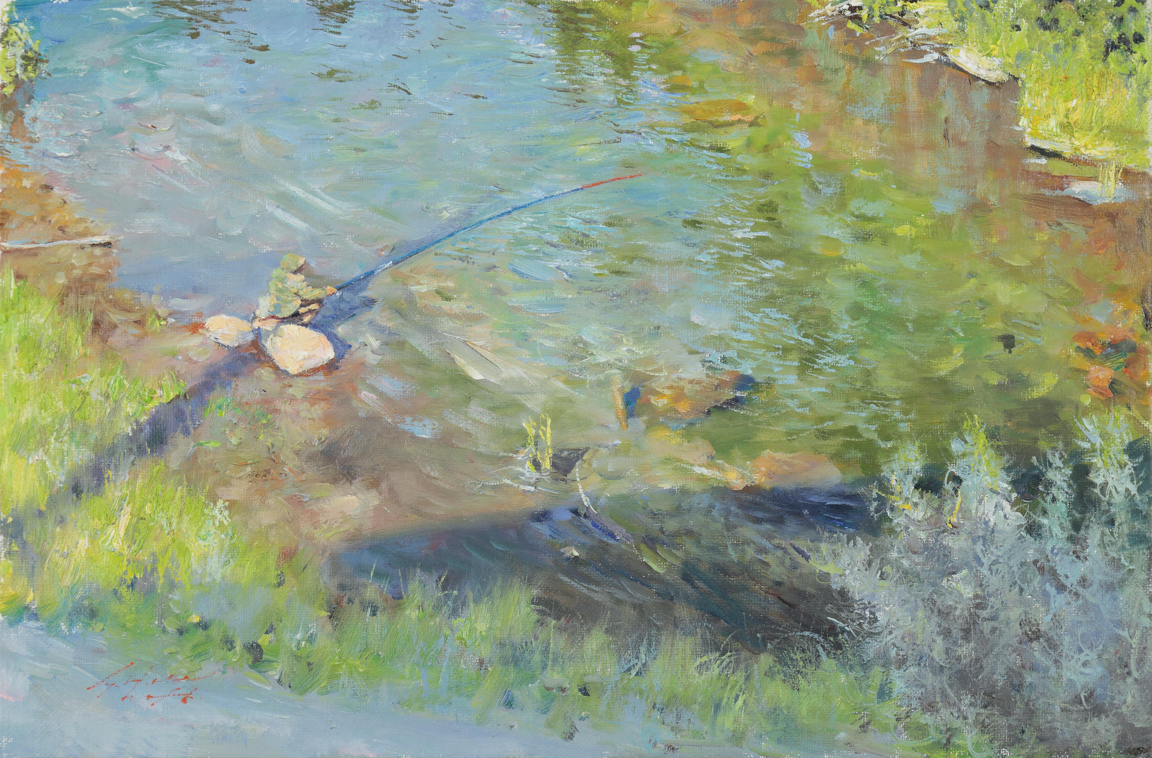 18 낚시 27x40.9 Oil on canvas 2016