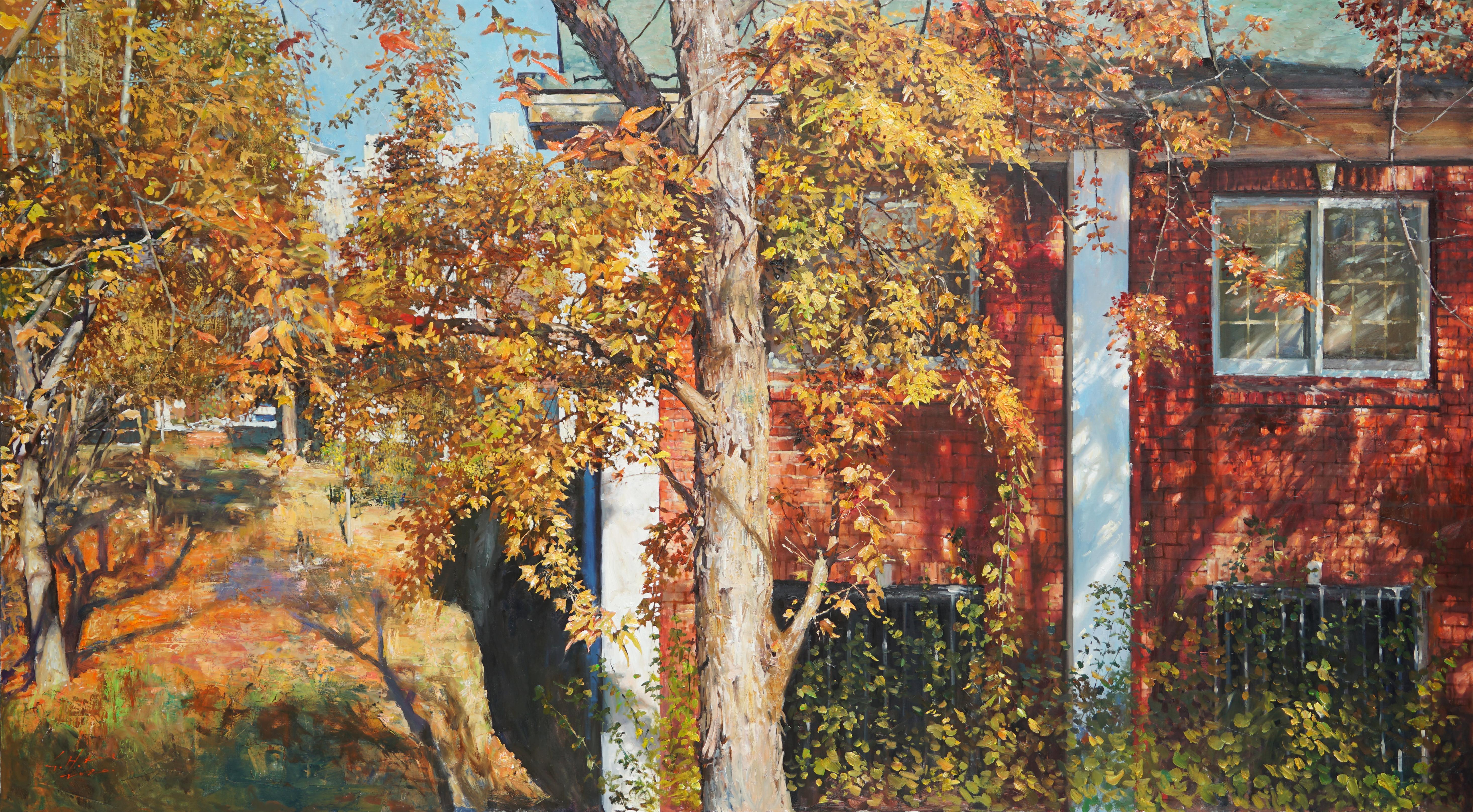 대명동의 가을 162.2x90 Oil on canvas 2020