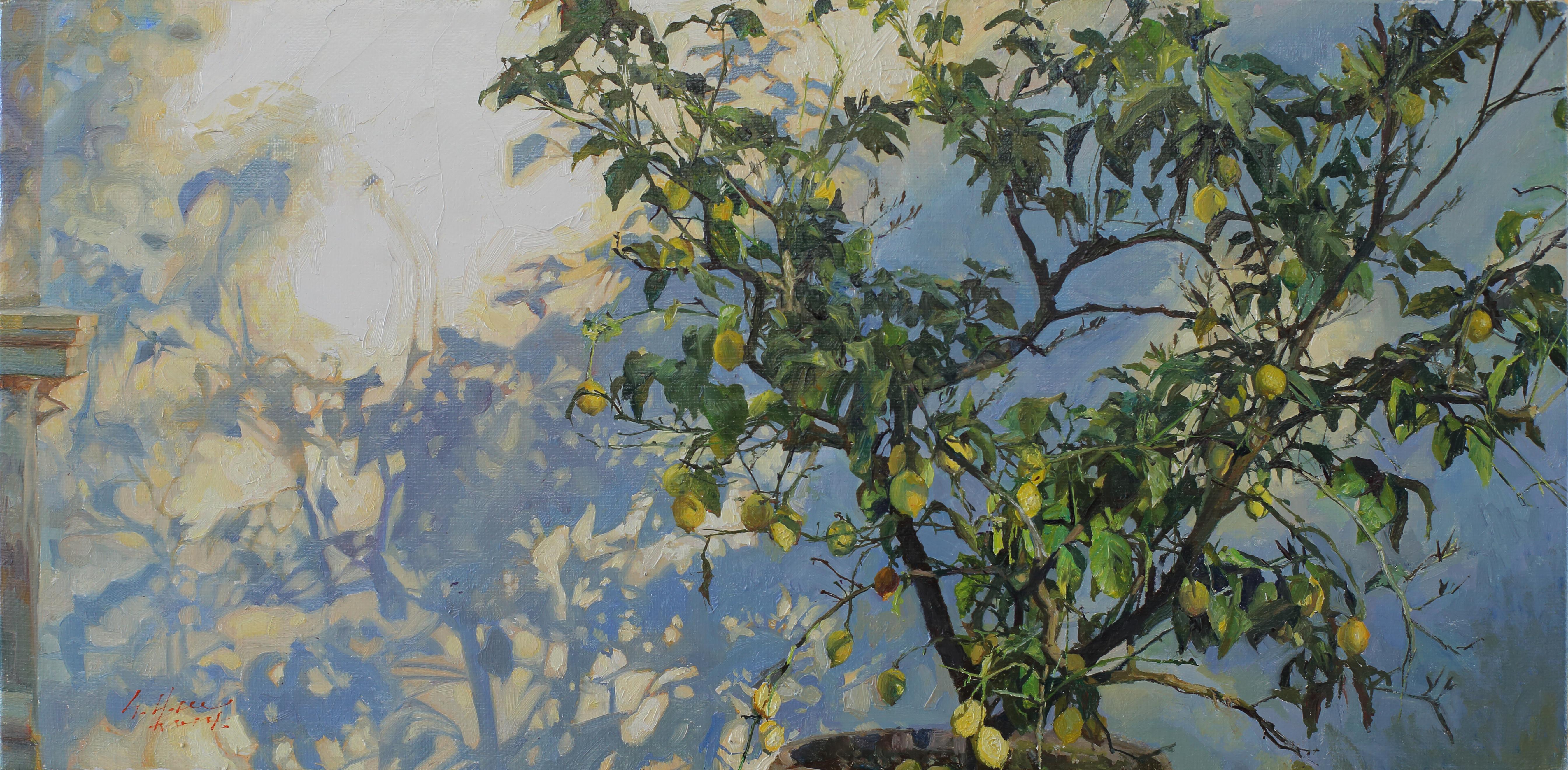 Lemon Tree 45.2x22.5 Oil on canvas 2014