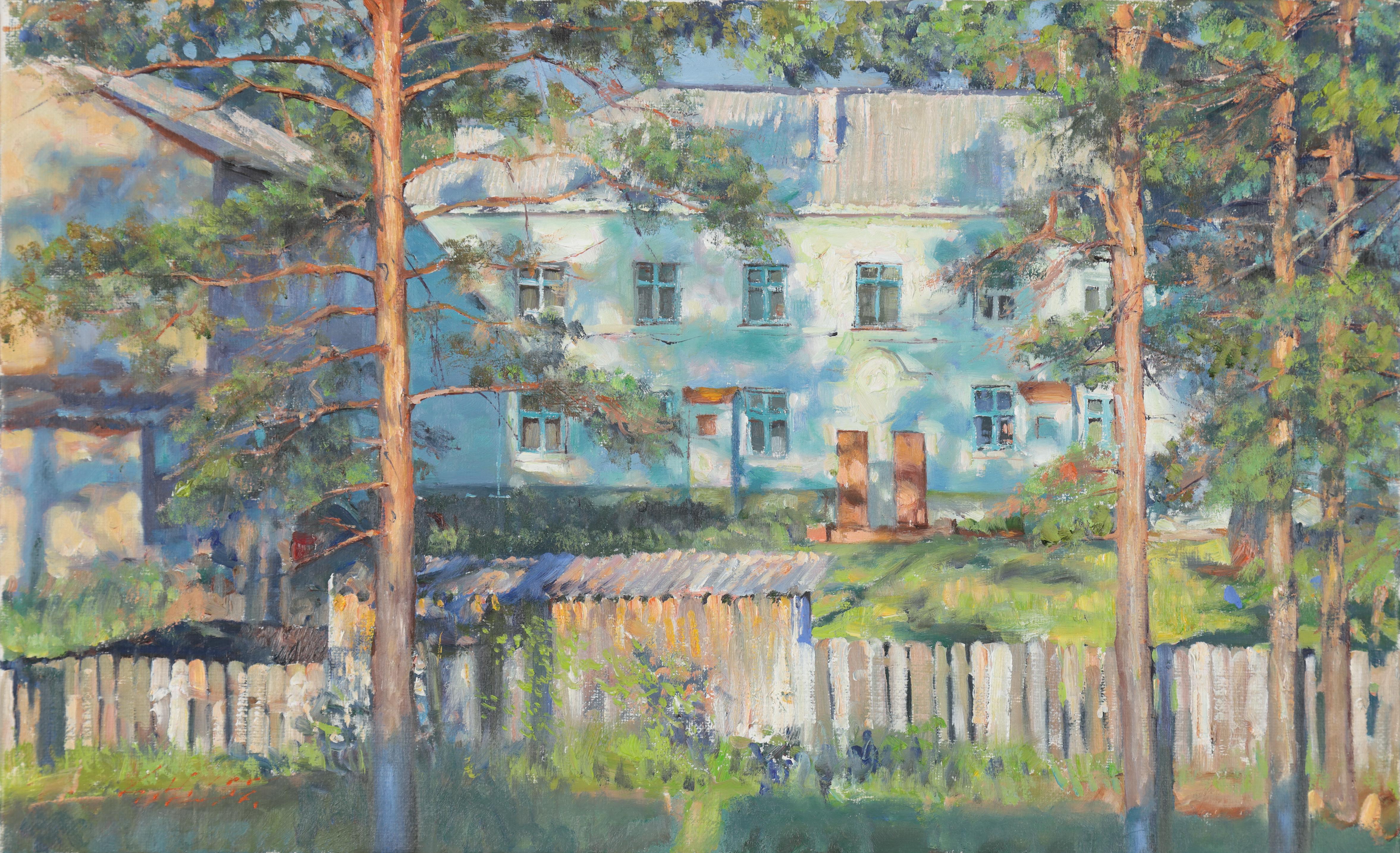 19 나무 그림자 28x45.5 Oil on canvas 2016