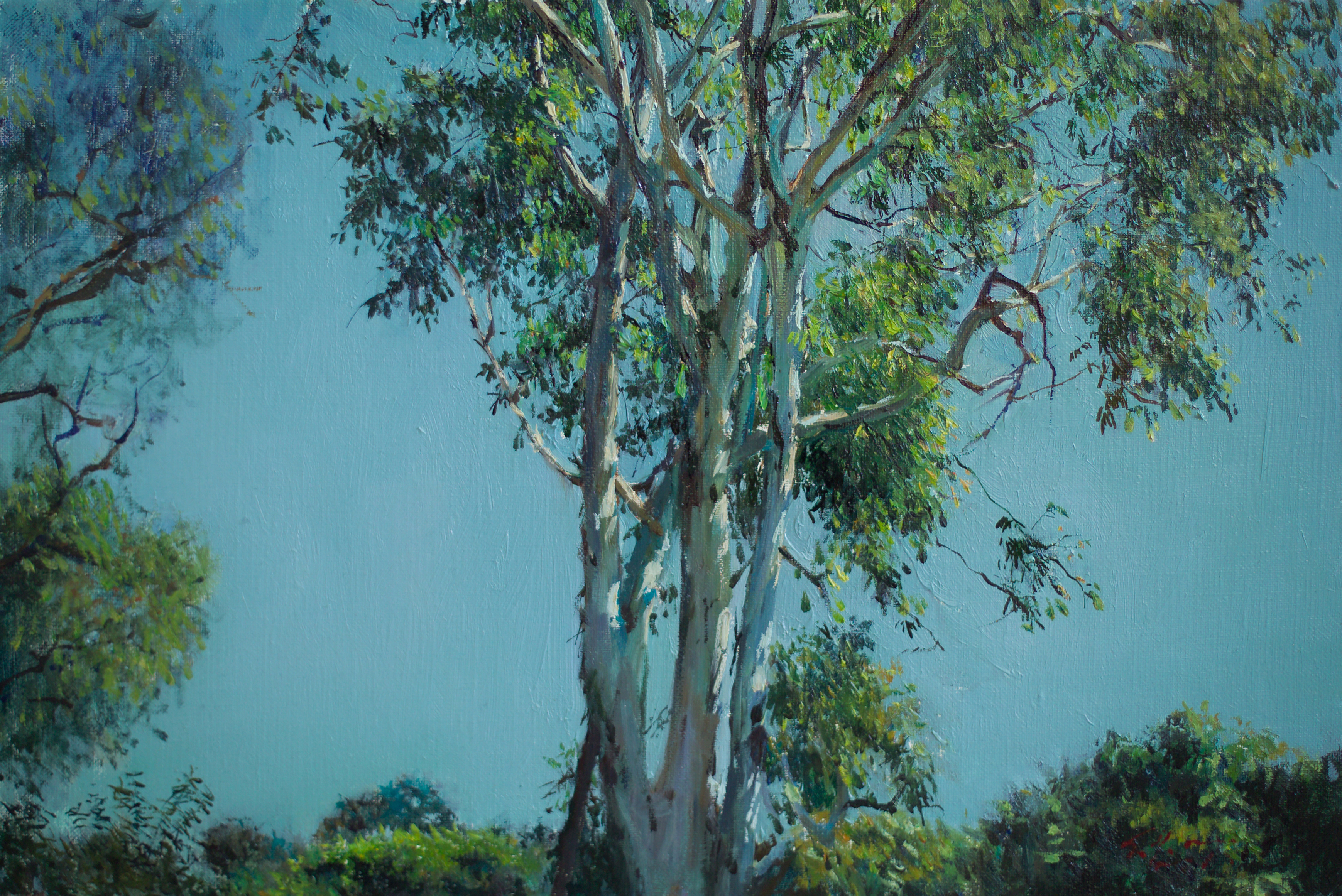 화창한 오후 53x35.5 Oil on canvas 2012