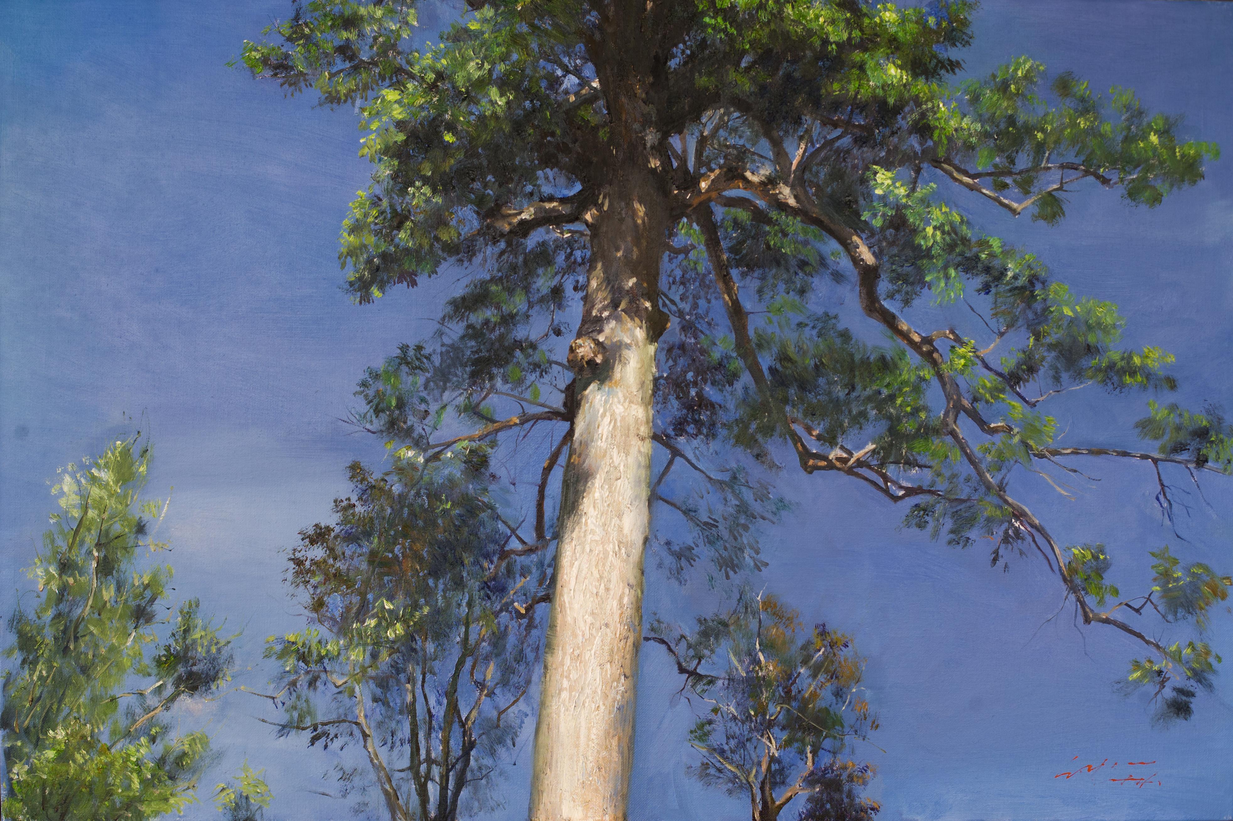 나무 90 9x60.6 Oil on canvas 2014