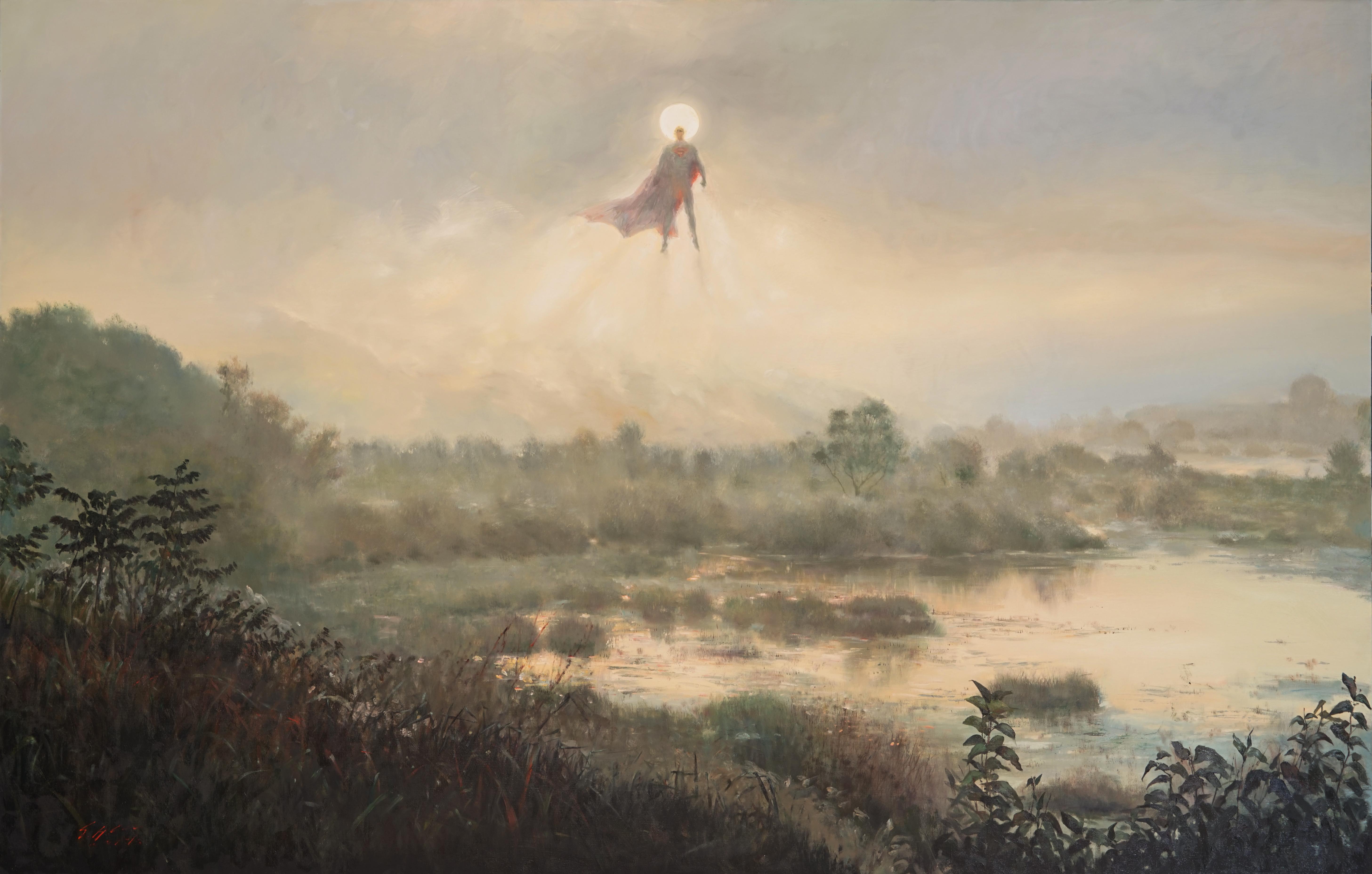 우포의 새벽250x160 Oil on canvas 2014-2016