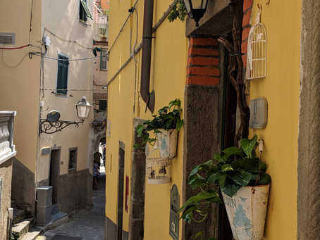 "Day 11 Cinque Terre ""Five Towns"""