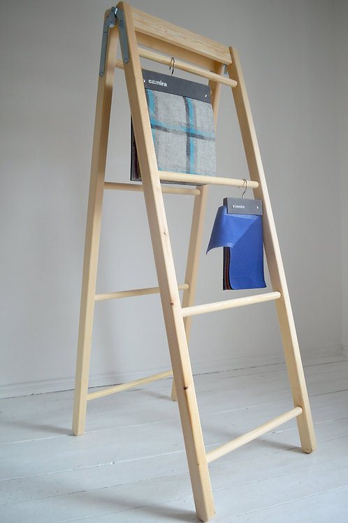 Large double Retro Ladder as a Storage Solution Hand Made from Pine Wood