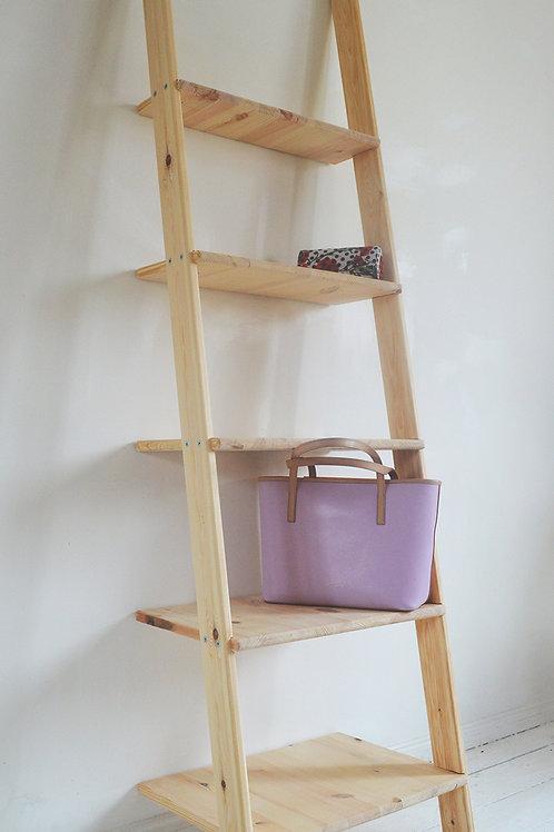 Home Decorative Wooden Ladder Unit Storage Desplay