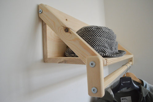 Ultimate Shelf - with the ability to hang clothes