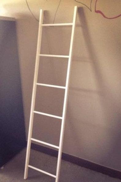 Decorative Pine Wood Ladder