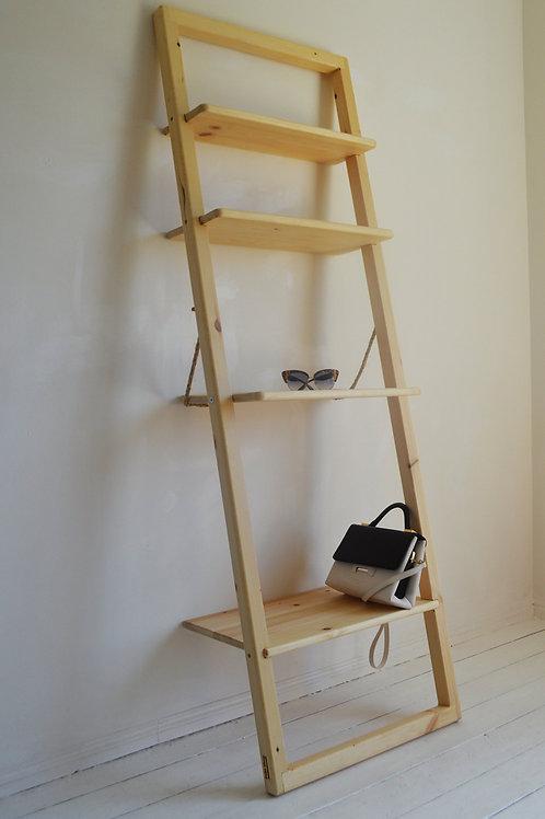 Storage Ladder Unit with Rotating Shelf