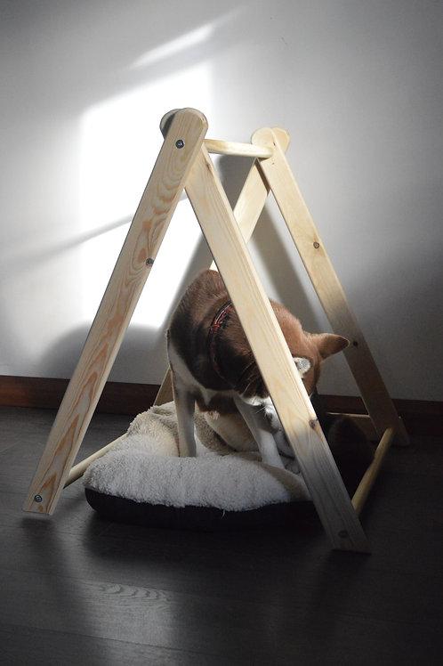 Wooden Dog Bed Frame, Dog Bed, Indoor Dog House!