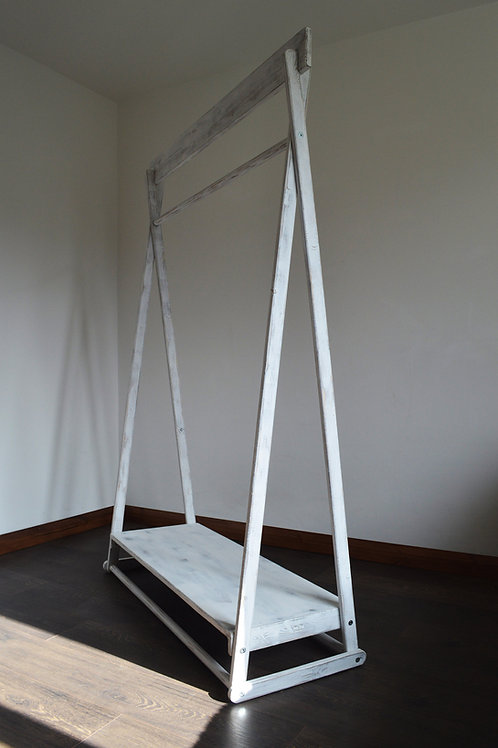 Clothes Rail with Shelf and a Plank!