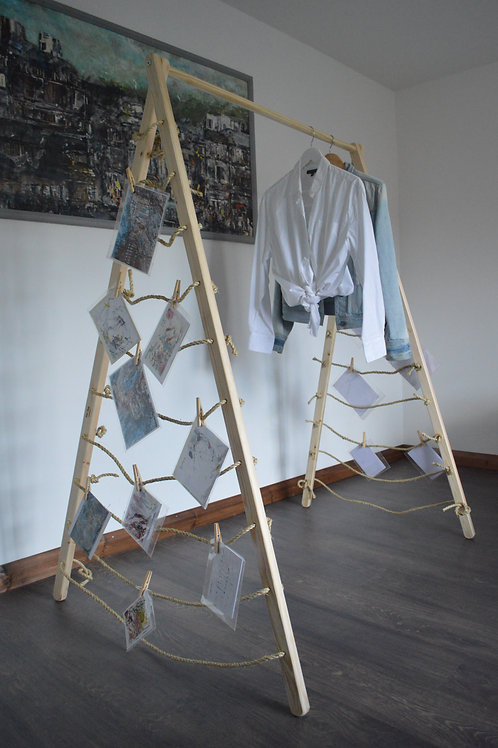Clothes Rail with alternative rope sides