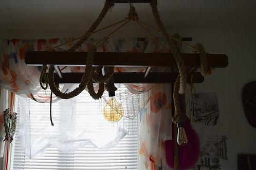 Small Multi Purpose, Home Decorative Wooden Ladder, VINTAGE, Handmade