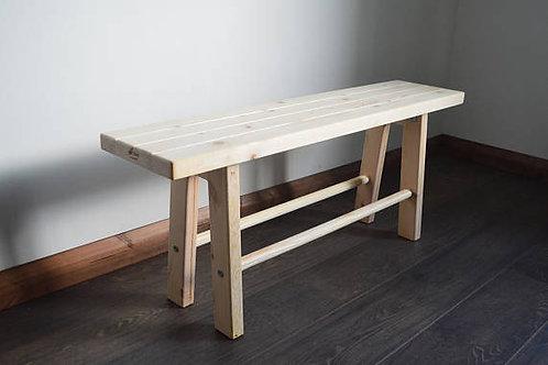 Vintage, Wooden Bench