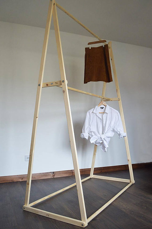 Double Hanging Clothes Rail