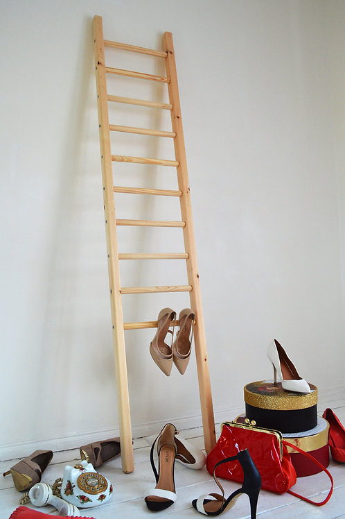 Stylish Vintage Ladder Perfect for Shops (rungs can be taken out)