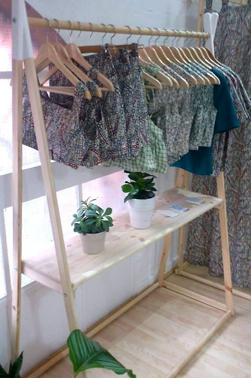 Clothes Rail with a Shelve