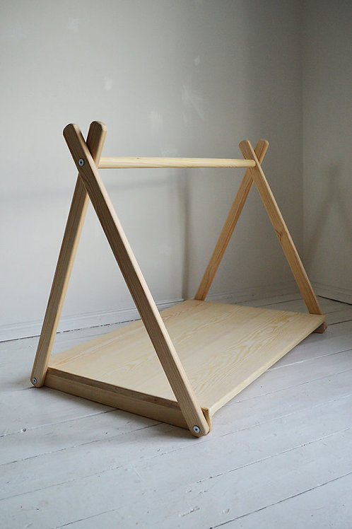 Mini Clothes Rail with a Shelf