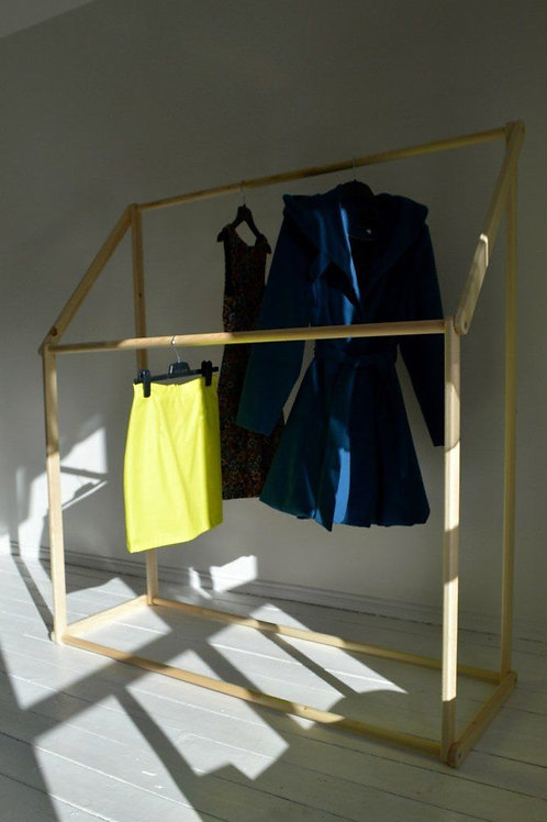 Modern & Funky Double Clothes Rail