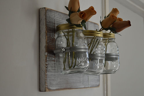 Mason Jar Wall Farmhouse Decor