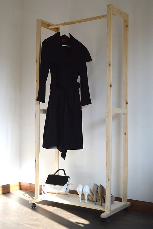 Hand Made Clothing Rail