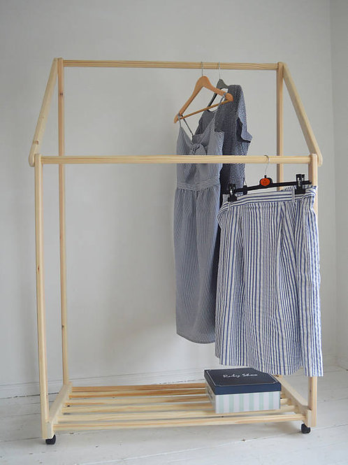 Funky Double Clothes Rail