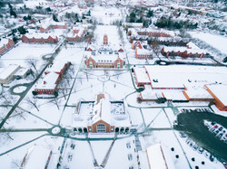 Grove City covered in snow
