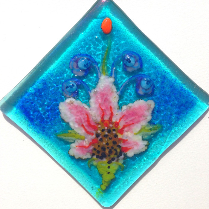 Little Water Lily Tile (SOLD)