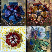 Flower Tile Quad