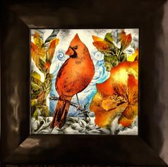 Cardinal and Hibiscus Alternate