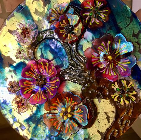 Round Flower Tree (detail)