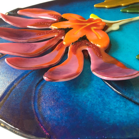 Blue Sky Lily, (detail)