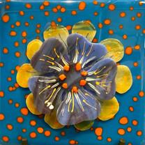Blue Flower/OP Turquoise