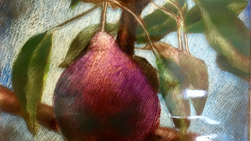 Luscious Pear (detail)