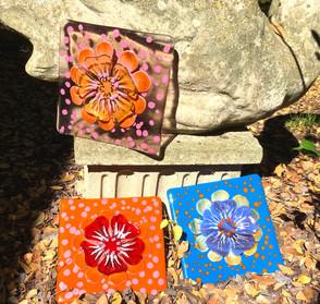 3-D Flower Tile collection