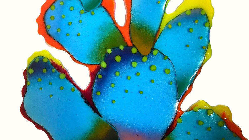 Smoldering Turquoise Cactus