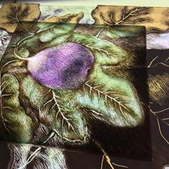 """Luscious Fig"" in progress"