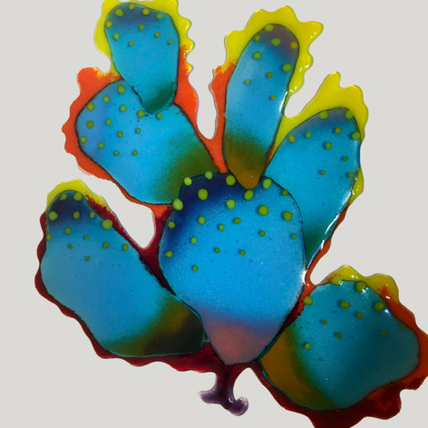 Smoldering Turquoise Cactus (AVAILABLE)