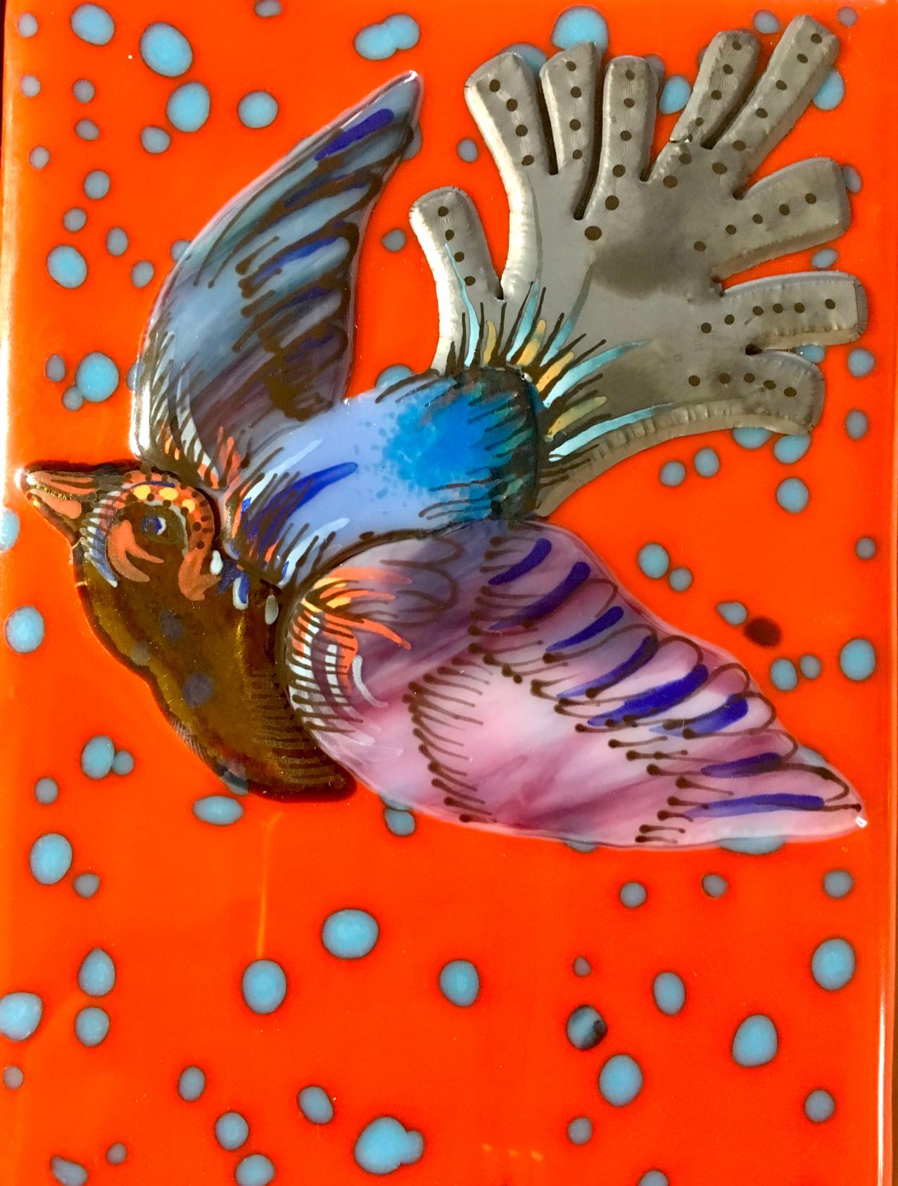 Bird Tile-Pimento