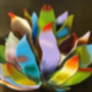 "gold glass; 20""x20""_$1400_#cactus #warmg"