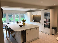 stelec Electrical Kitchen extension, spot lights, appliance fitting, Electrician Market Harborough