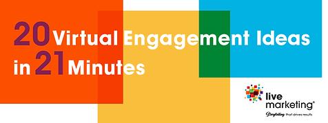 20 virtual event engagement ideas