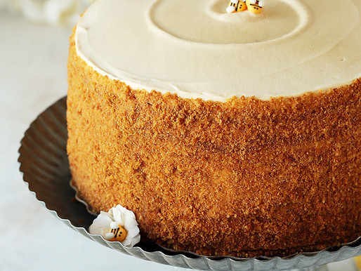 Totally Amazing Honey Cake
