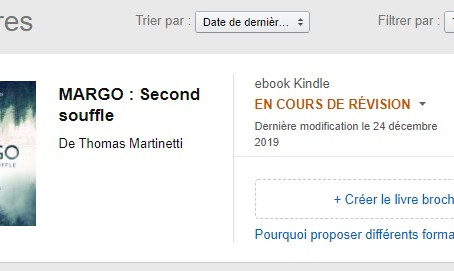 Publication de MARGO !