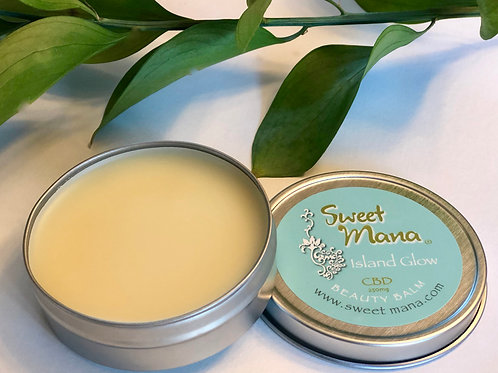Island Glow CBD Muscle Rub & Beauty Balm