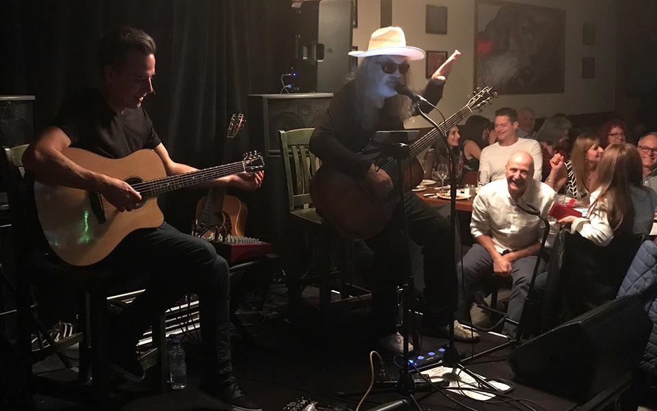Michel Pagliaro live at Melrose