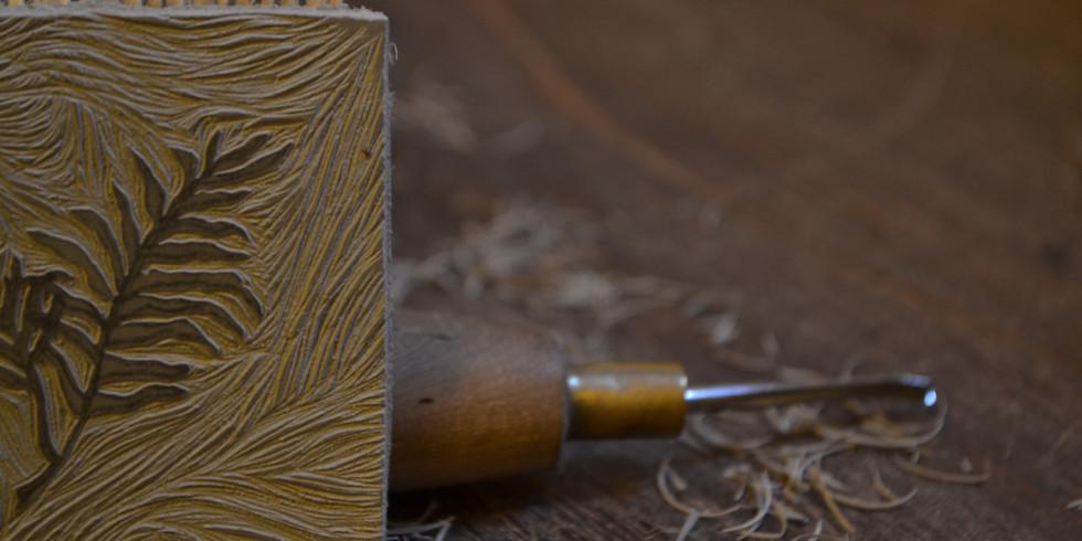 Atelier gravure Linocut : Spécial Valentine Penrose