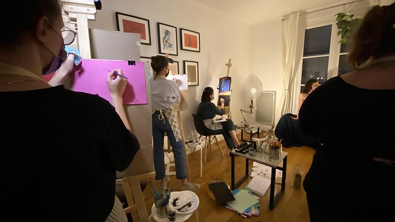 Mecredis de Peinture et Apéro ! Programme de Peinture et d'histoire des femmes artistes  ;)