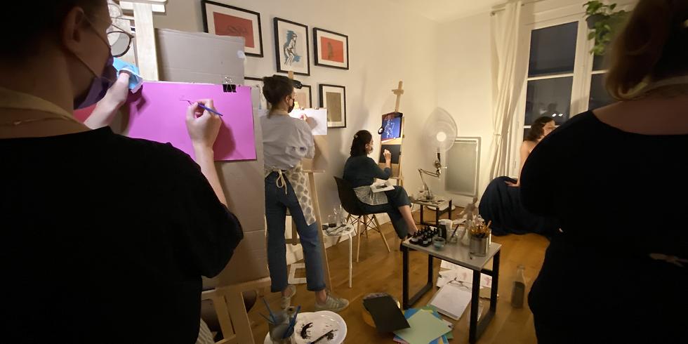 Découvre et peins comme les femmes de l'art moderne ! Programme de Peinture et histoire de l'art